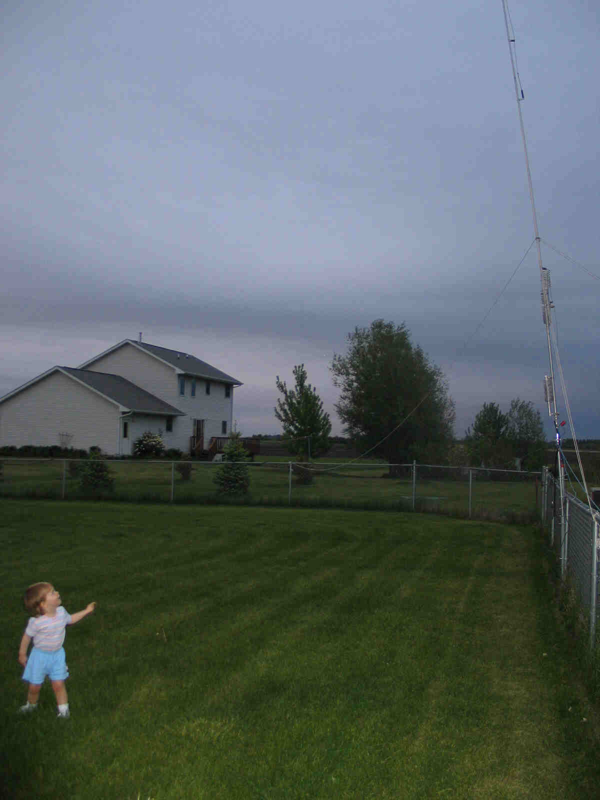 Butternut 9 band antenna