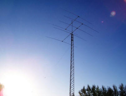N0HR ham radio tower